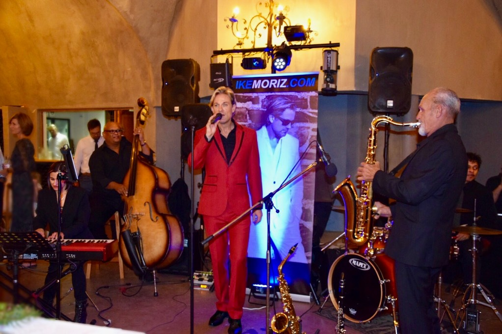 Ike Moriz swing band quintet top wedding singer live entertainment montpellier de tulbagh 2018 nicole and michael