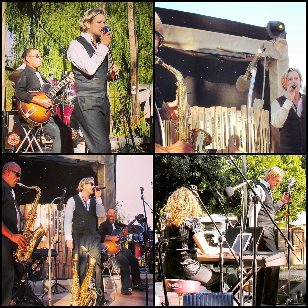 Ike Moriz Quintet Top Wedding Singer 401 Rozendal 2015 on stage