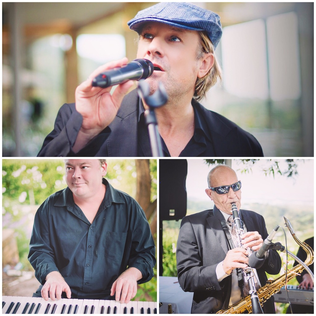 Top wedding singer trio Ike Moriz, Willie van Zyl, Andrew Ford, wedding band entertainment