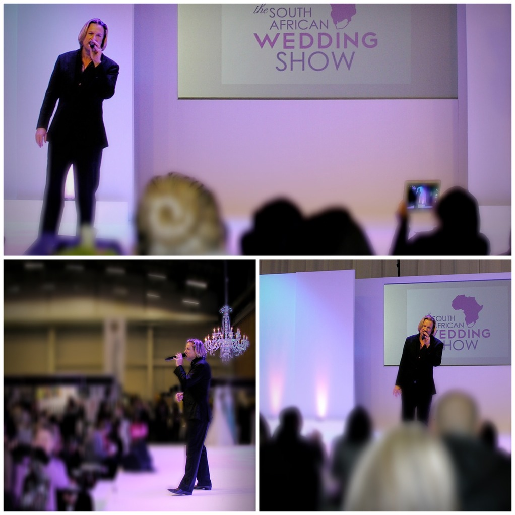 Top wedding singer Ike Moriz live at the SA Wedding Show 2015 CTICC Cape Town