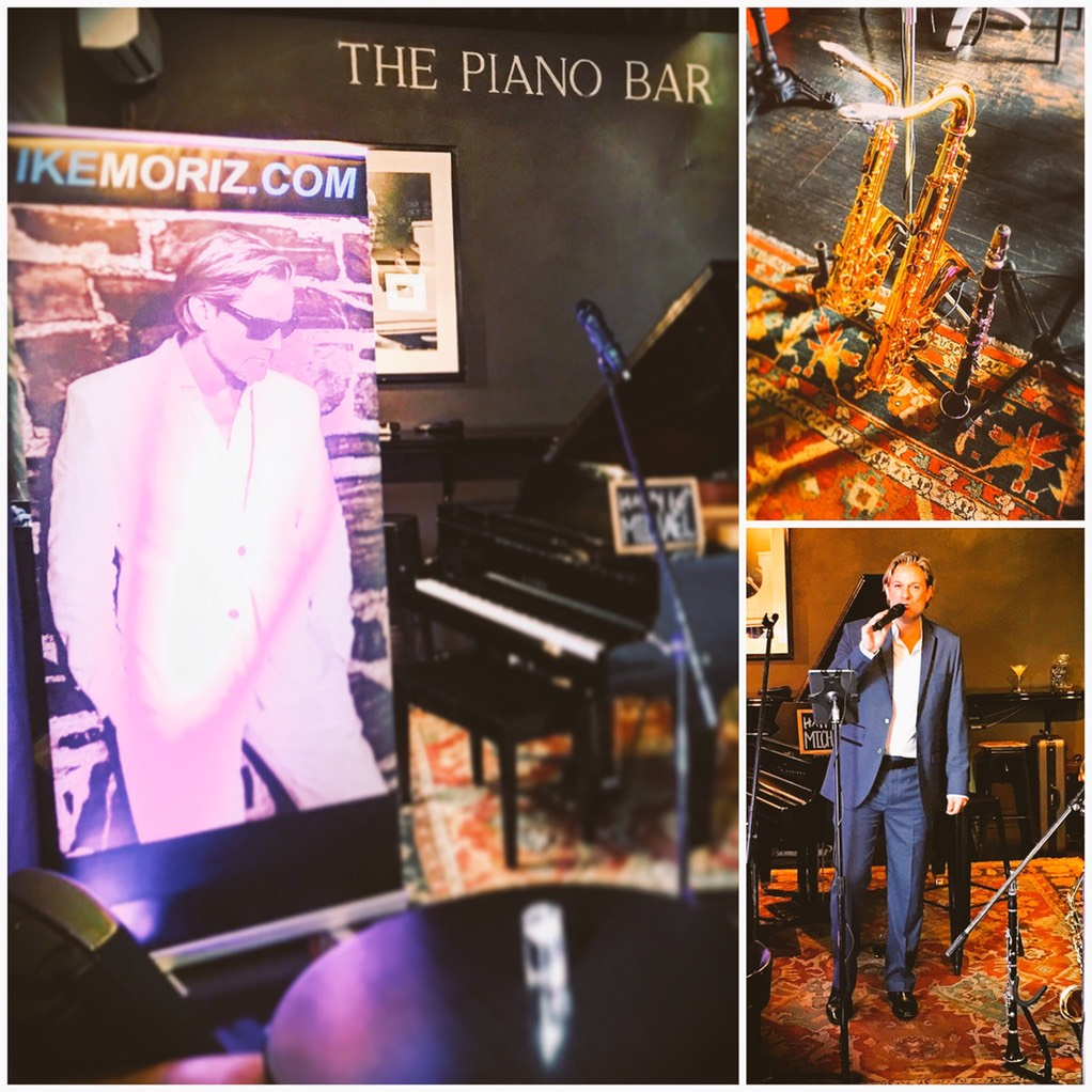 Top Wedding Singer swing duo latin jazz band entertainment birthday function Ike Moriz The Piano Bar May 2017 Cape Town