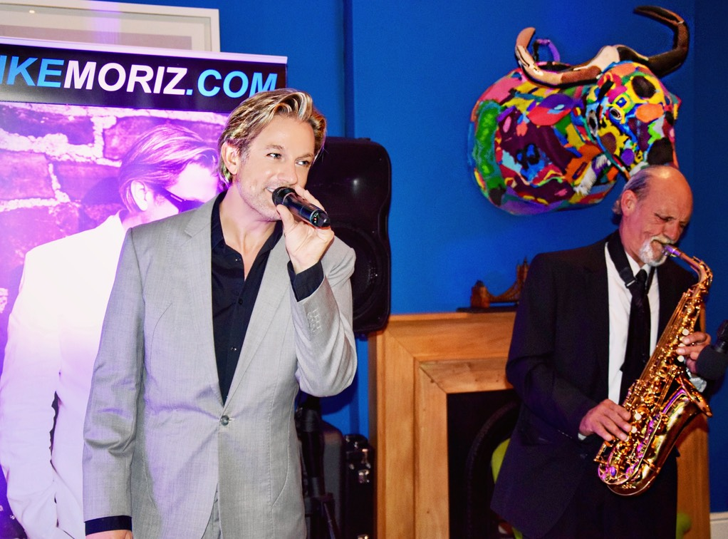 Iker Moriz at The Stack Gardens Cape Town Willie van Zyl swing jazz latin pop duo band entertainment wedding music top singer cape town colorful