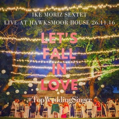 Ike Moriz Sextet at Hawksmoor House November 2016 wedding singer band swing jazz pop entertainment cape town stellenbosch south africa