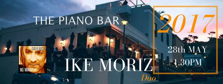 crooner Top Wedding Singer swing duo latin jazz band entertainment birthday function Ike Moriz The Piano Bar May 2017 Cape Town Michael Zipp
